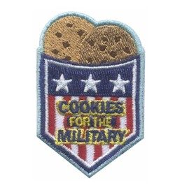 Cookies for the Military Patch