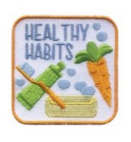 Healthy Habits Girl Scout Patch