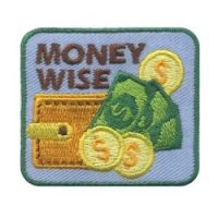 Money Wise Girl Scout Patch