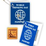 Australia Thinking Day Passport SWAPs