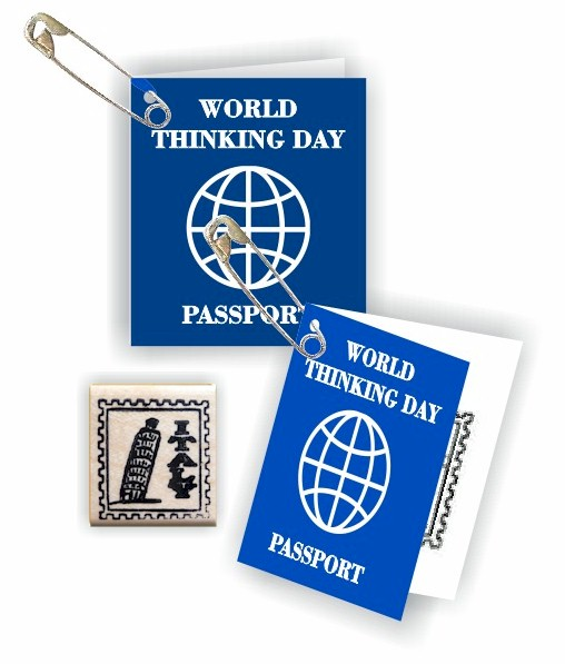 Italy Mini Passport Friendship Swap Kit. These passport crafts are sure to be a hit at your World Thinking Day* or International booth, especially when the girls get their passport stamped! Kit makes 100. You'll find more fun ideas on our page Italy | Ideas for Thinking Day* including patches, crafts, passports and more. via @gsleader411