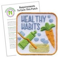 Healthy Habits Girl Scout Patch Program