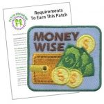 Money Wise Girl Scout Patch Program
