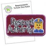 Respect Authority Patch Program