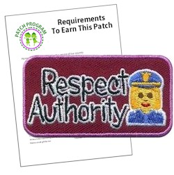 Respect Authority Patch Program®