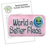 World a Better A Place Patch Program