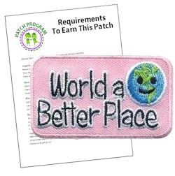 World a Better A Place Patch Program®
