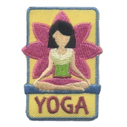 Girl Yoga Patch