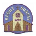 Scout Sunday 2018 Fun Patch
