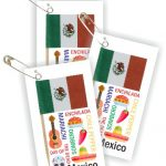 Mexico Thinking Day Toothpick Flag SWAPs