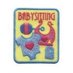 Girl Scout Babysitting Fun Patch