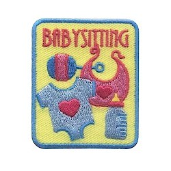 Girl Scout Babysitting Fun Patch
