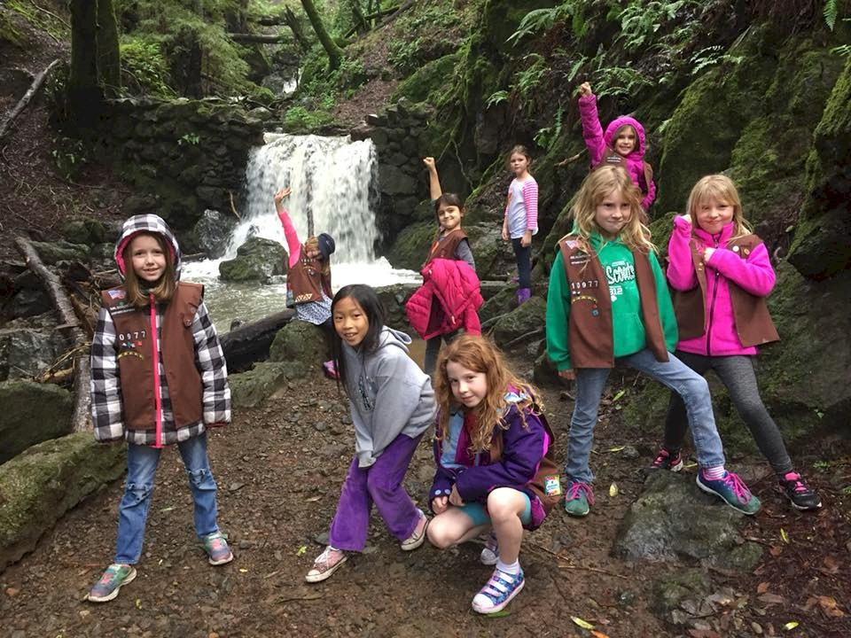 Brownie Fall Camping