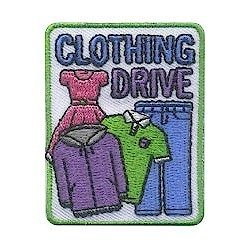 Girl Scout Clothing Drive Fun Patch