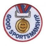 Girl Scout Good Sportmanship Fun Patch