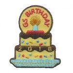 Girl Scout Birthday 2018 Fun Patch
