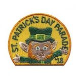 Girl Scout St. Patrick's Day Parade 2018 Fun Patch