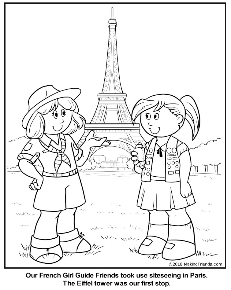 france coloring pages - photo#33