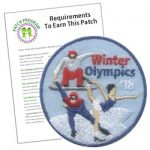 Winter Olympics Girl Scout Patch Program®