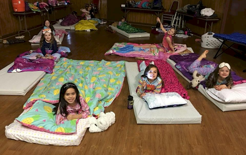 Daisy Girl Scout Sleep Over