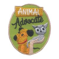 Girl Scout Animal Advocate Patch