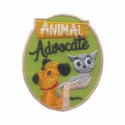 Girl Scout Animal Advocate Fun Patch