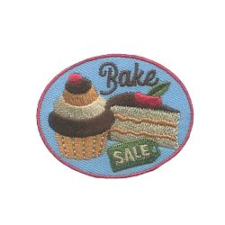 Girl Scout Bake Sale Fun Patch