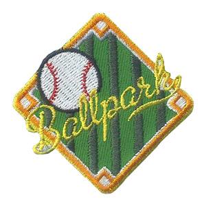 Girl Scout Ballpark Fun Patch