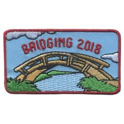 Girl Scout Bridging 2018 Patch