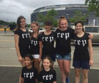 Here's a different way to earn the Ballpark fun patch. Girl Scout Troop #4440  of New Milford, NJ at Taylor Swift Reputation Stadium Tour.