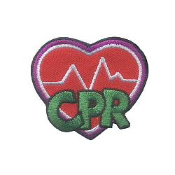 CPR Patch. If your scouts are ready go beyond basic first aid skills, they will want to earn this CPR patch from MakingFriends®.com. Many girls as young as 9 years old can learn the basics of CPR even if they do not yet have the physical strength to perform CPR. via @gsleader411