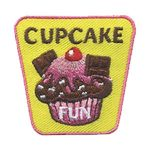 Girl Scout Cupcake Fun Patch