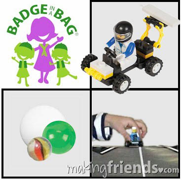 Daisy Car Design Badge in a Bag via @gsleader411
