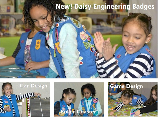 Daisy Engineering Badges
