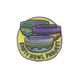 Empty Bowl Project Fun Patch