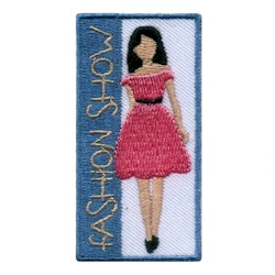 Girl Scout Fashion Show Patch
