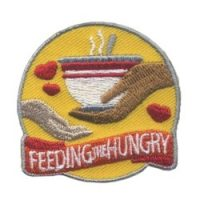 Girl Scout Feeding the Hungry Patch