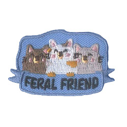 Girl Scout Feral Friend Fun Patch