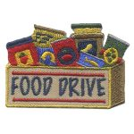 Girl Scout Food Drive Patch