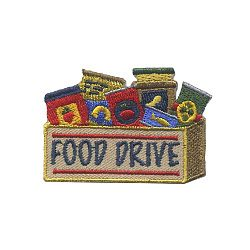 Food Drive Fun Patch
