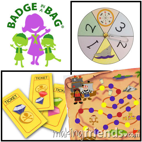 Daisy Game Design Badge in a Bag via @gsleader411