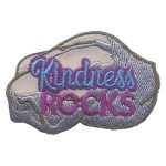Girl Scout Kindness Rocks Patch