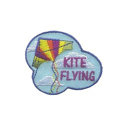 Kite Flying Fun Patch
