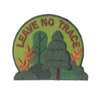 Girl Scouts Leave No Trace Fun Patch