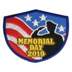 Girl Scout Memorial Day 2019 Fun Patch
