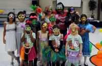 Earn a masquerade patch! Service Unit SEARK Diamonds. The girls leaned about Brazil then followed it up with a masquerade ball.