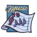 Girl Scout Music Fun Patch