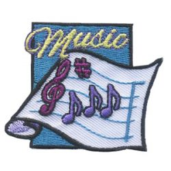 Girl Scout Music Fun Patch