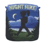 Girl Scout Night Hike Patch