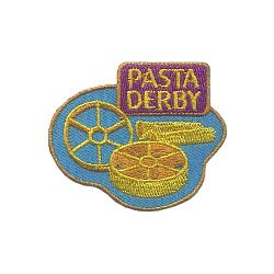Pasta Derby Fun Patch